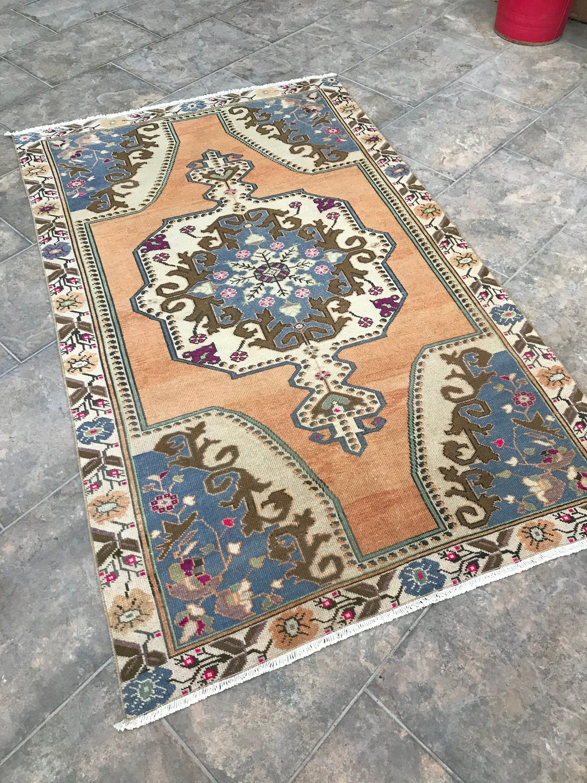 vintage bohemian style area turkish rug country farmhouse beach house rug decorative rug on boho chic kitchen rugs id=61276