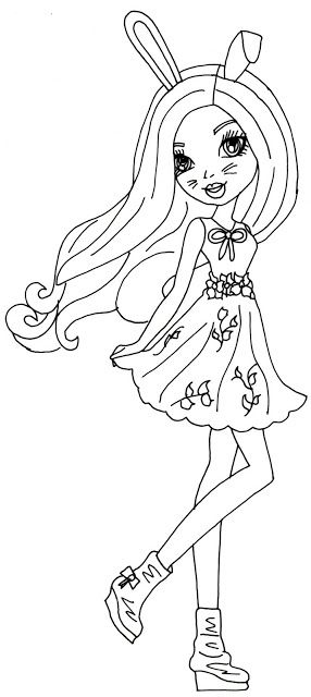 Free Printable Ever After High Coloring Pages Harelow