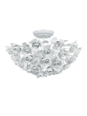 City of Light: Crystorama Princeton Ceiling Mount, well I need this now.