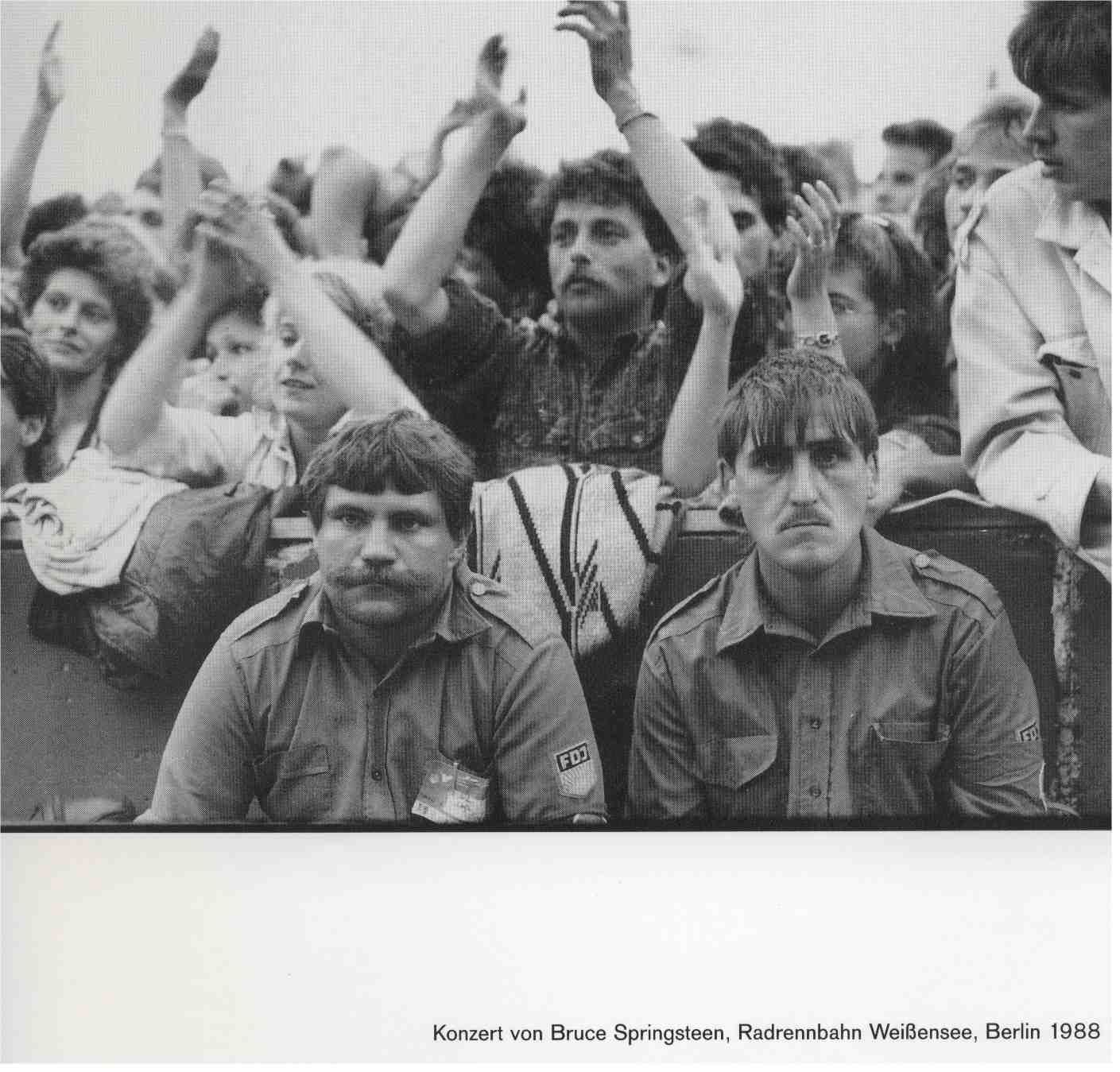 FDJactivists at a Bruce Springsteen concert in East