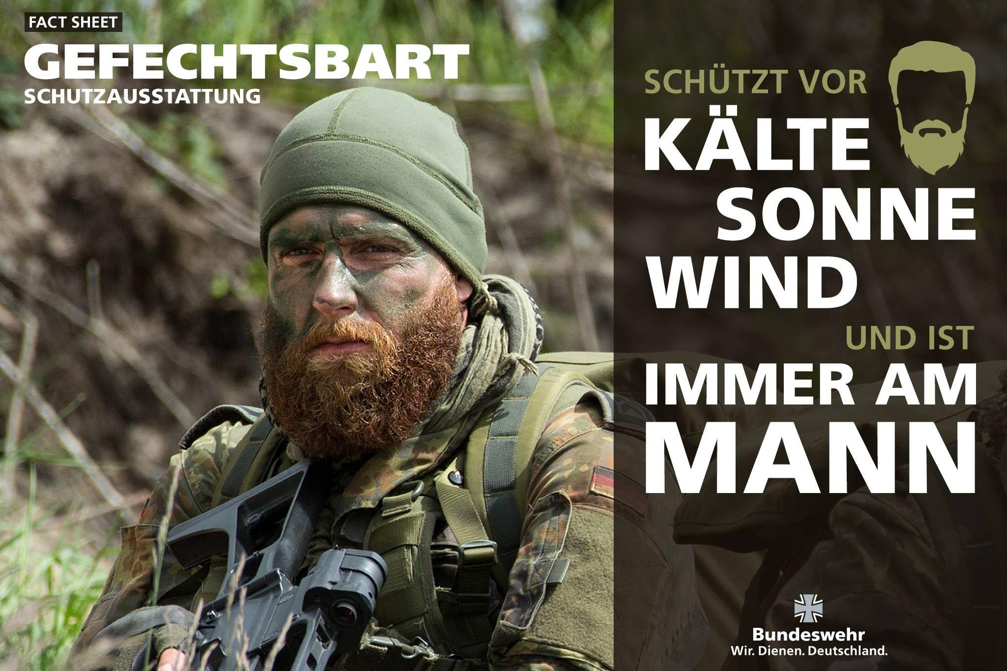 German bundeswehr fact sheet gefechtsbart 2048x1365