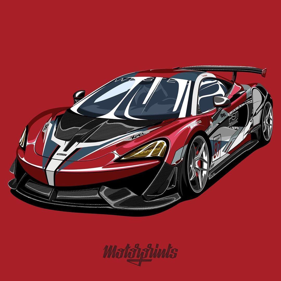 """MotorPrints on Instagram """"McLaren 570S. Owner"""