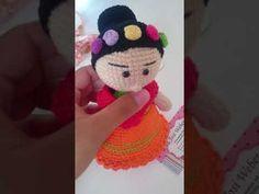 Amigurumi Frida Kahlo : Frida kahlo amigurumi elo