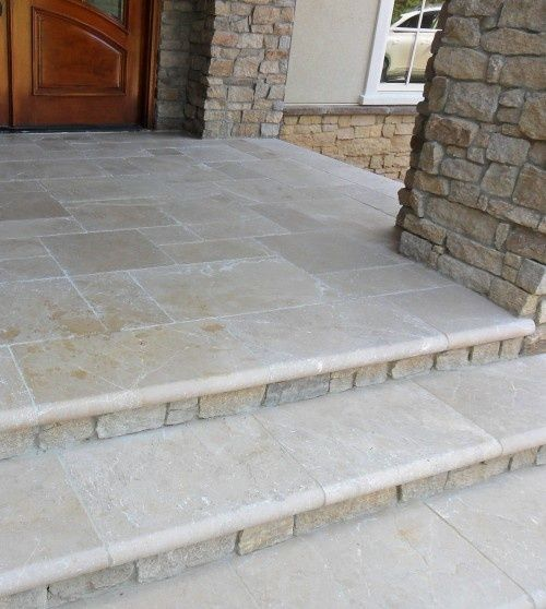front porch stone