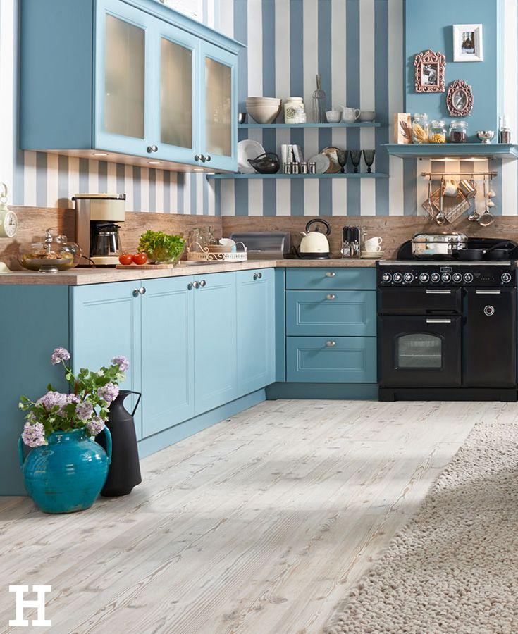 Der Landhausstil Bringt Gemütlichkeit In Die Küche. #küche #landhaus  #scandi #ideen