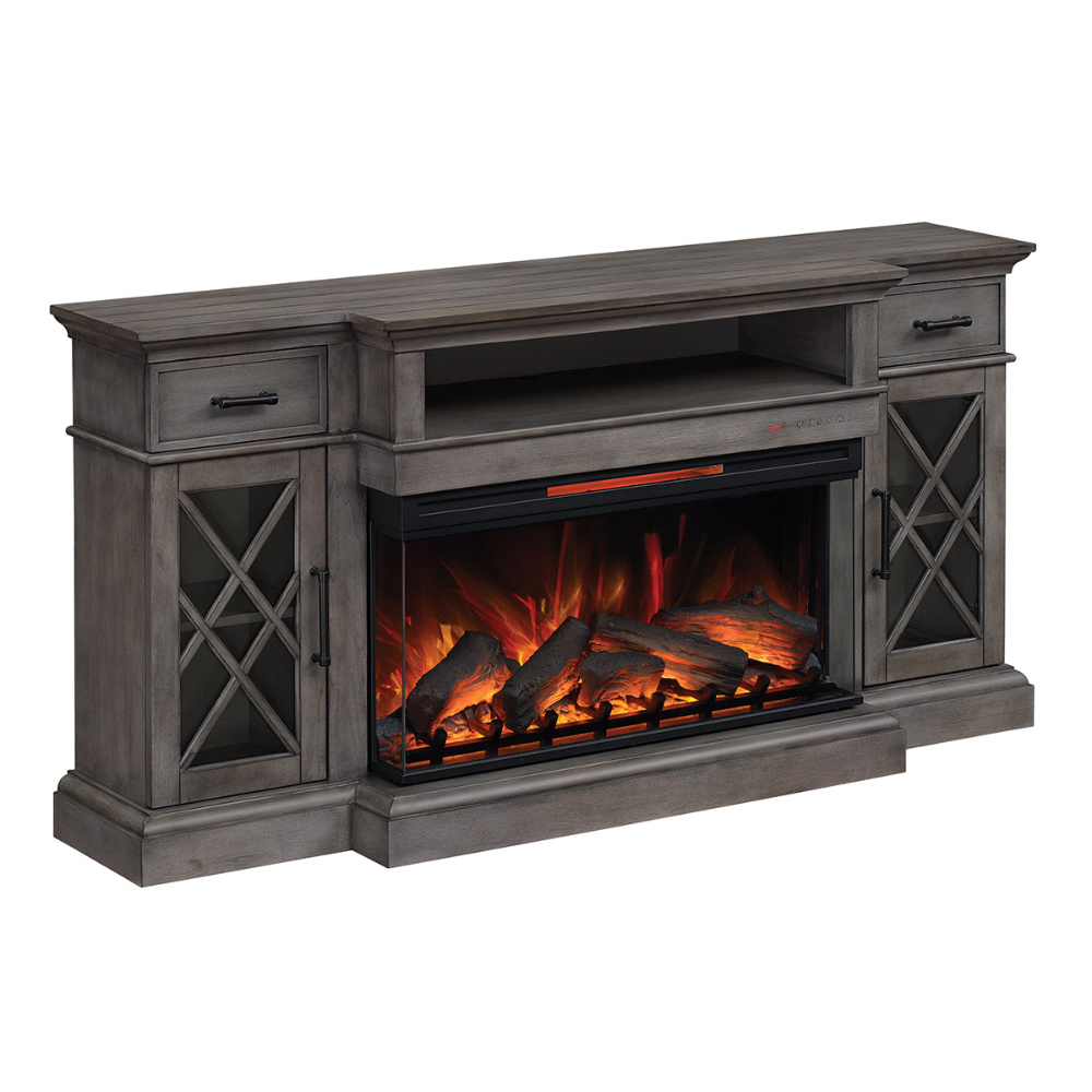Hamilton Tv Stand With Electric Fireplace 36mm30608 B523 In 2020