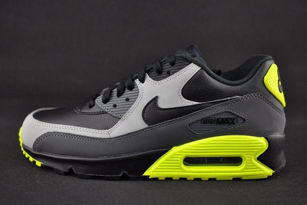 air max 90 grey green