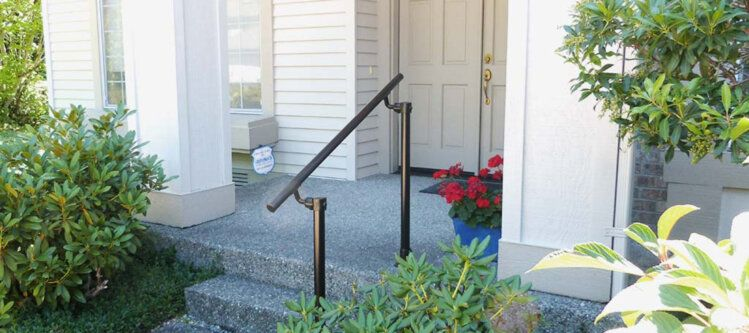 Best Outdoor Stair Railing Kit Buy Step Handrail Online 640 x 480
