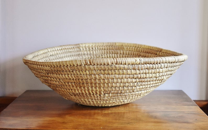 decorative bowls home decor.htm 19  gullah south carolina sweetgrass bowl basket  extra large  gullah south carolina sweetgrass bowl