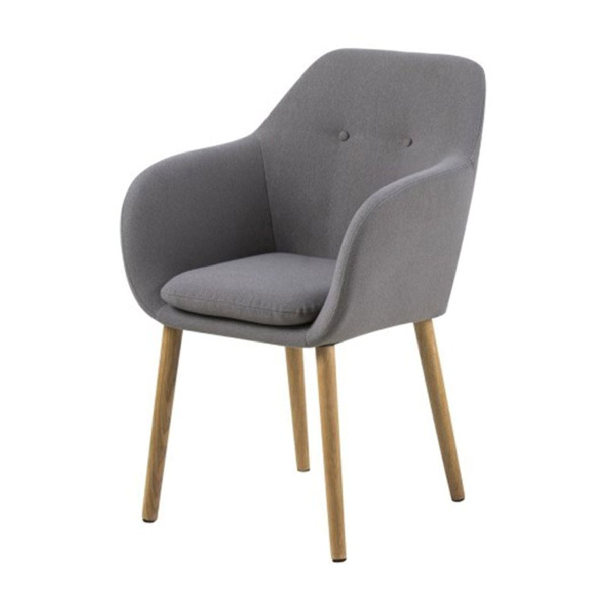 Chaise Salle A Manger Chaise Brontee Gris Clair Chaise Brontee Gris