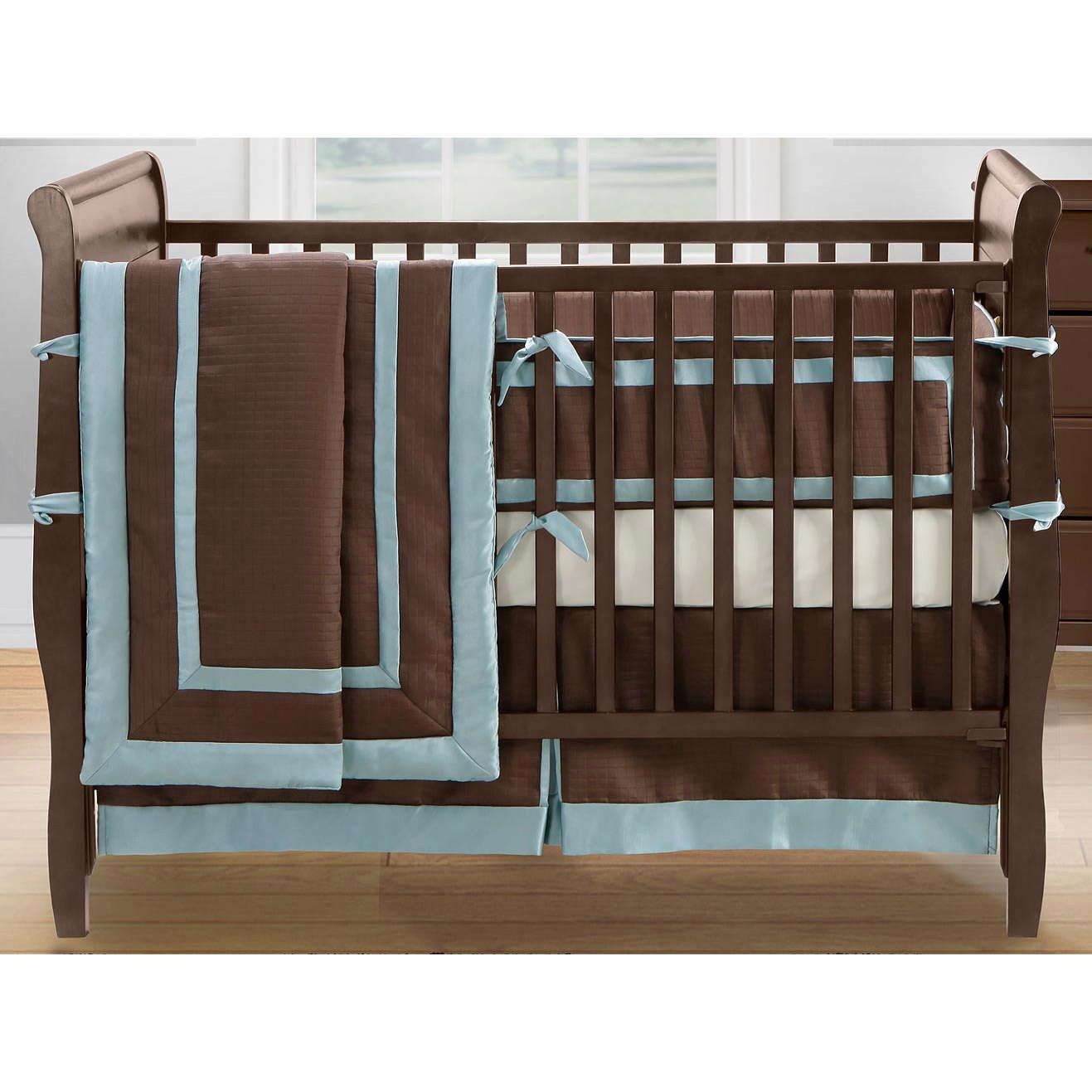 brooklyn brown 12 piece crib set by bananafish what s included