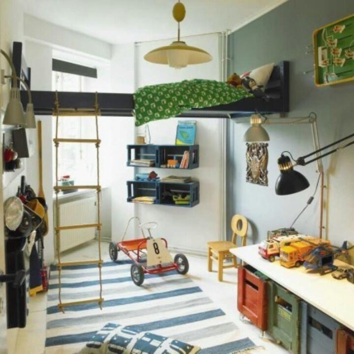 Las 15 camas infantiles más creativas   Altillo, Dormitorios ...
