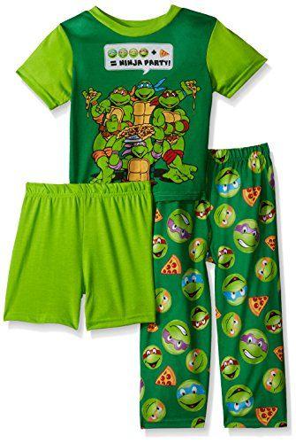 NICKELODEON Boys  Toddler Boys  Ninja Turtles 3-Piece Pajama Set ... cf083dca4