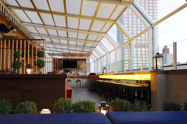 Top of the Strand glass-enclosed Rooftop Bar in NYC (With ...