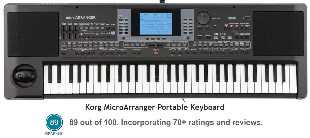 Best Keyboard Workstation Under 500 : the highest rated portable keyboard under 500 is the korg microarranger keyboards amps ~ Hamham.info Haus und Dekorationen