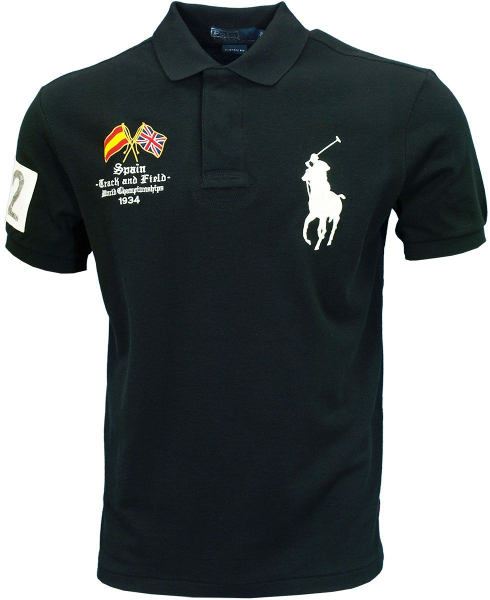 Lauren ShirtOlympics Ralph Polo Spain 2012 Polo xCrBoed
