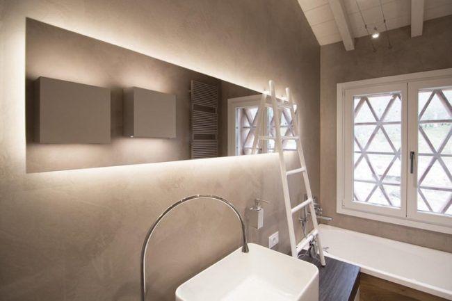 modernes-bad-spiegel-indirekte-beleuchtung-leiter Fliesen, Böden