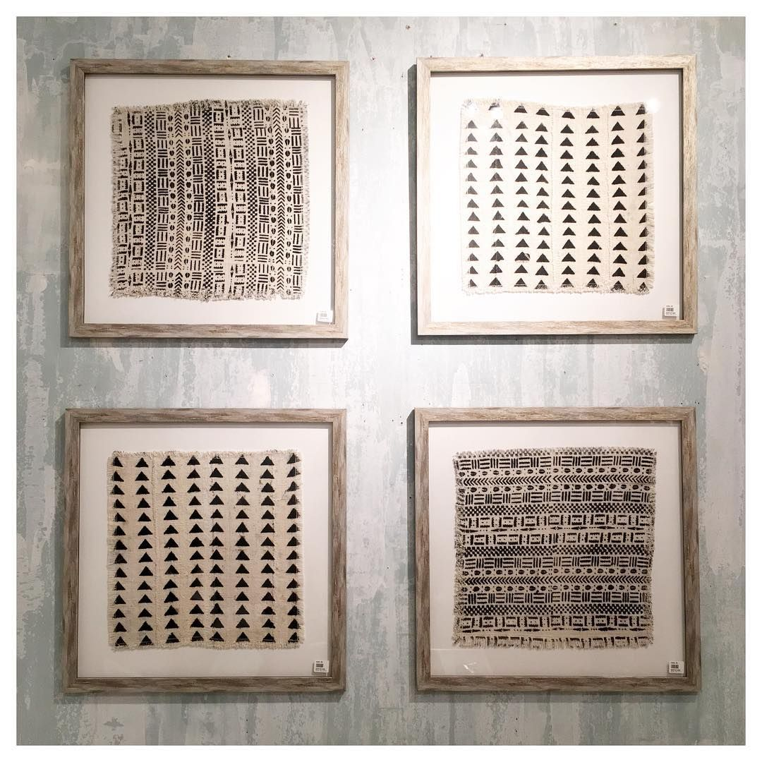 African Textiles Framed In Distressed Silver Frames Mix And Match Patterns That Are So Eclectic And Uniq Framed Fabric Wall Art Textile Wall Art Framed Fabric