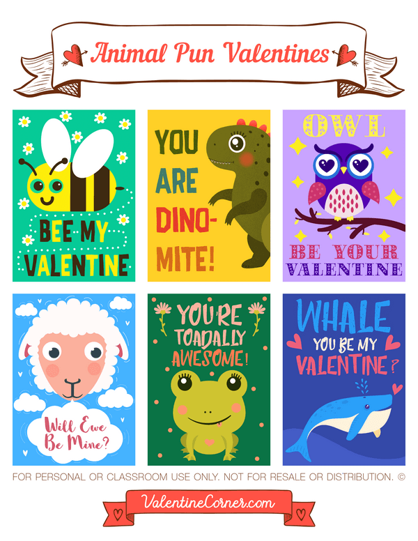 Image of: Download Free Printable Animal Pun Valentine Cards Download The Valentines In Pdf Format At Http Pinterest Pin By Muse Printables On Valentines Day Printables At