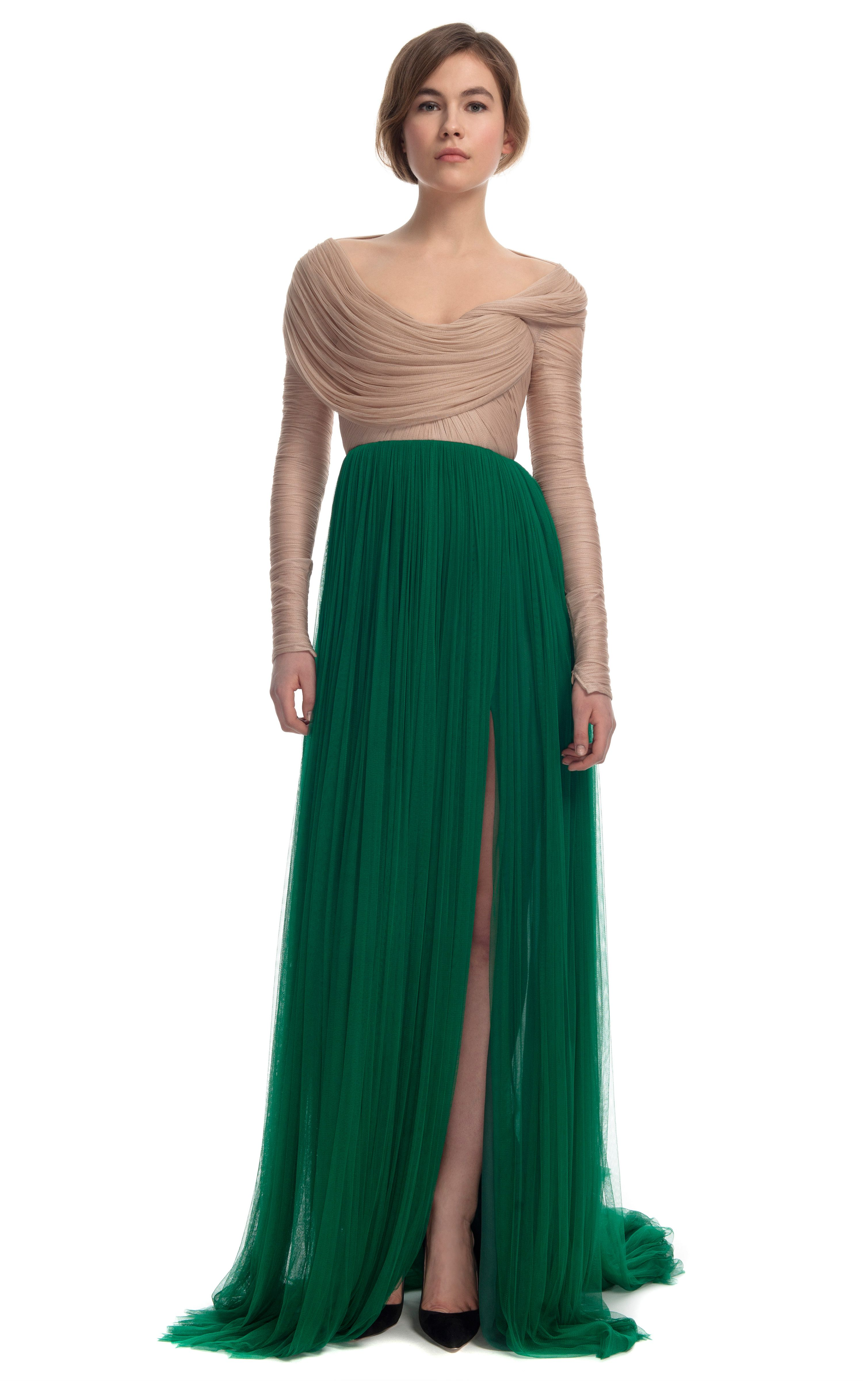 Delpozo two tone sheer organza gown clothes pinterest gowns delpozo two tone sheer organza gown ombrellifo Image collections