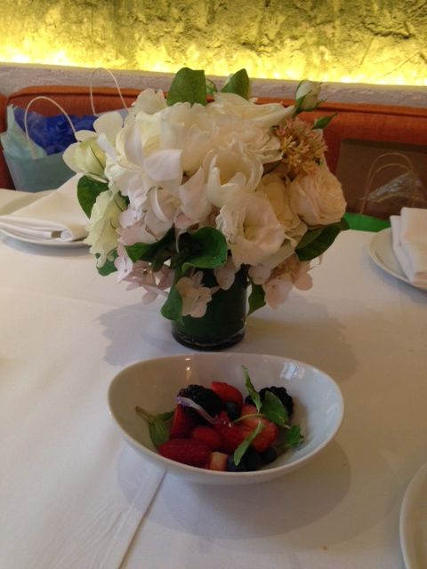 Bridal Shower at Fig & Olive in NYC