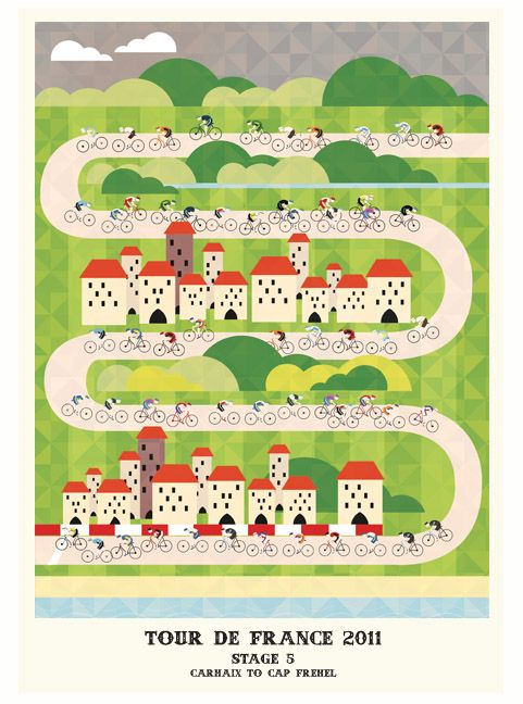 Tour de France poster | Cycle & Bike Art | Pinterest | Ciclismo ...
