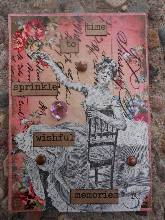 Sprinkle Memories A Collectable  AcEo by AlteredHead on Etsy, $12.00