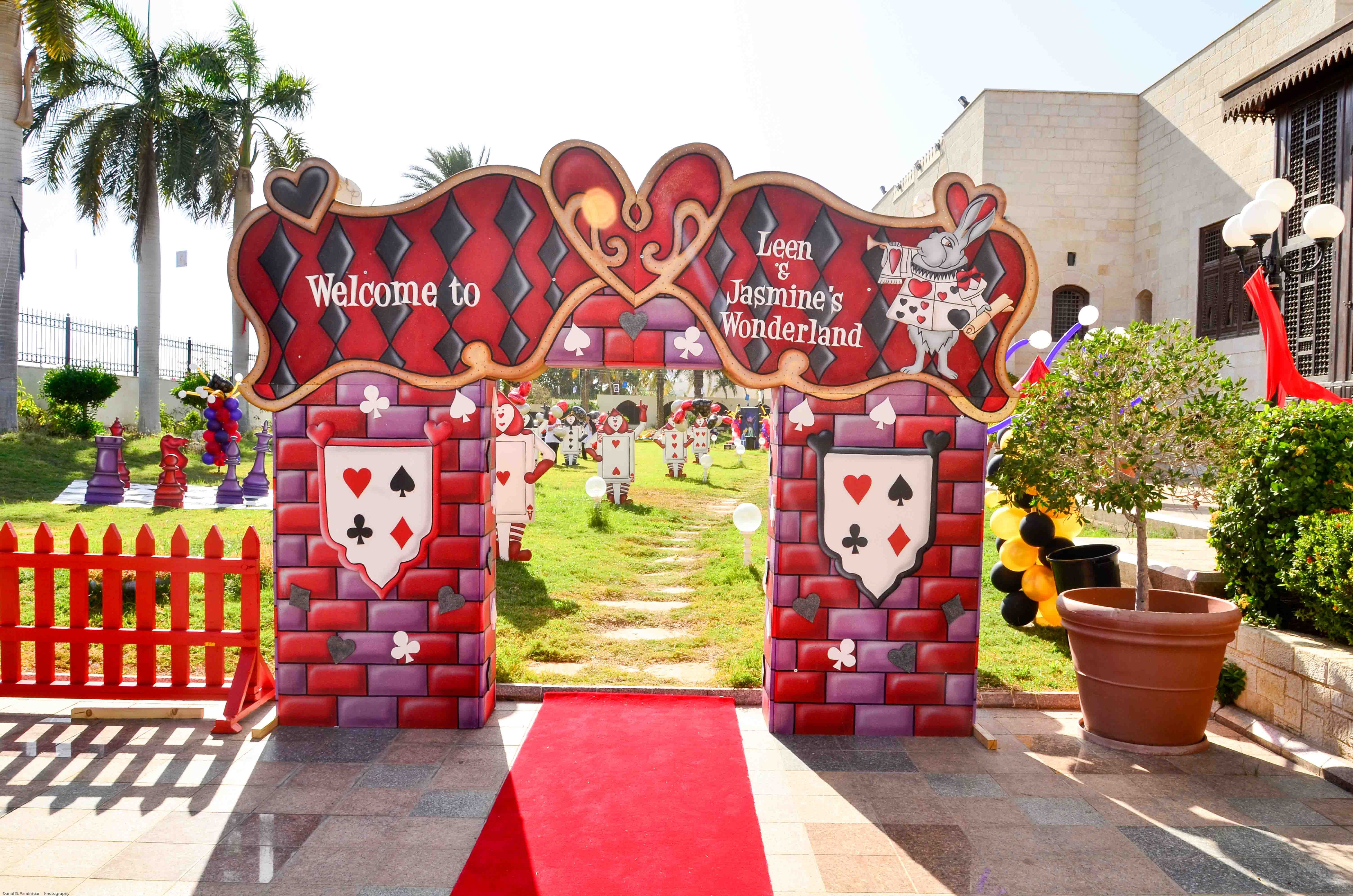 Entrance Panels By Fantasypartyksa To Create The Right Welcome Feeling For Your Guests Fantasy Party Party Planning Party Supplies