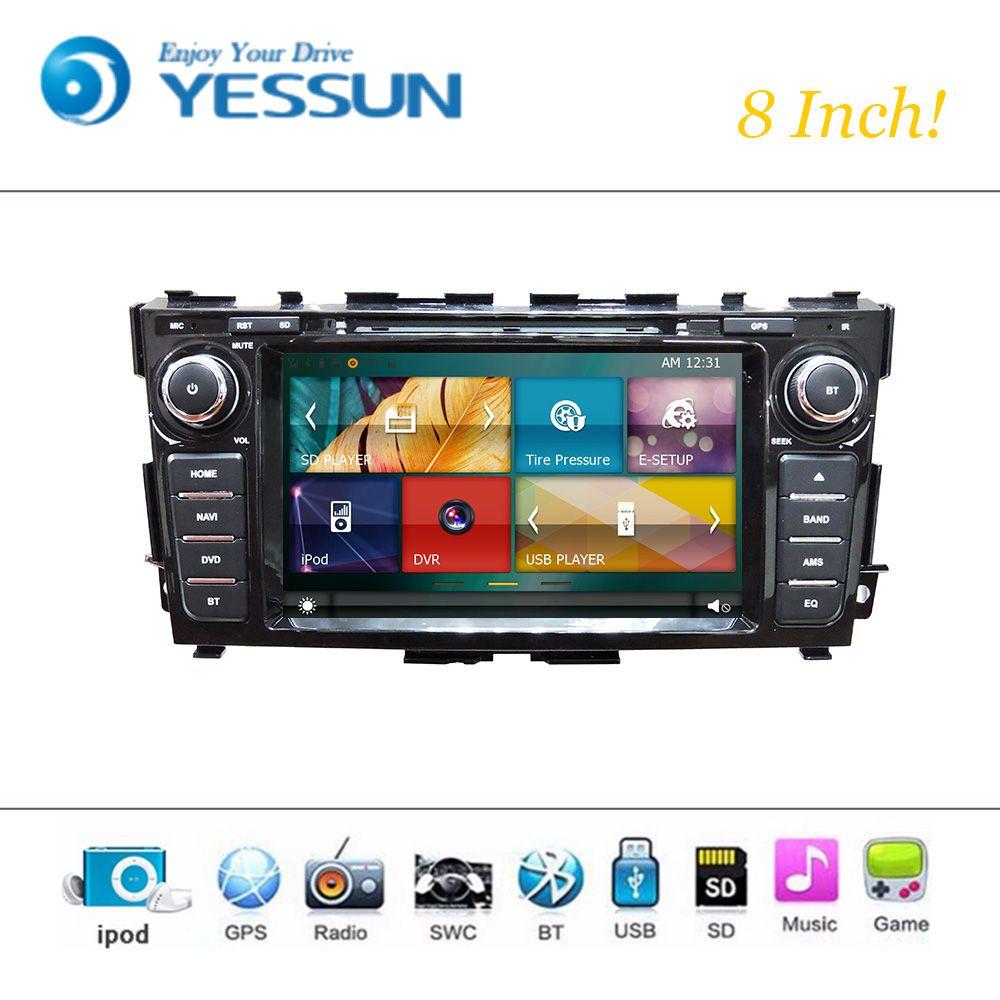 Car Dvd Player Wince System For Nissan Teana 2013 2015 Autoradio Car Radio Stereo Gps Navigation Multimedia Audio Video Radio Gps Navigation Usb Player
