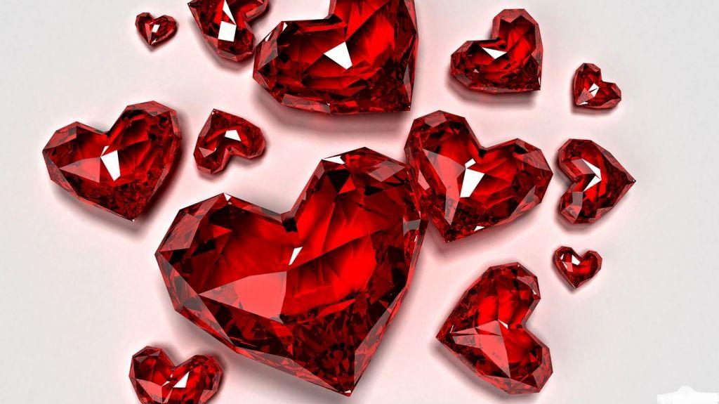 Crystal Love Wallpaper