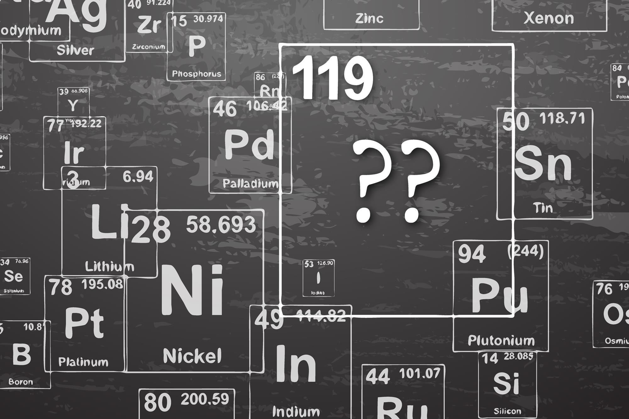 Cool Elements On The Periodic Table