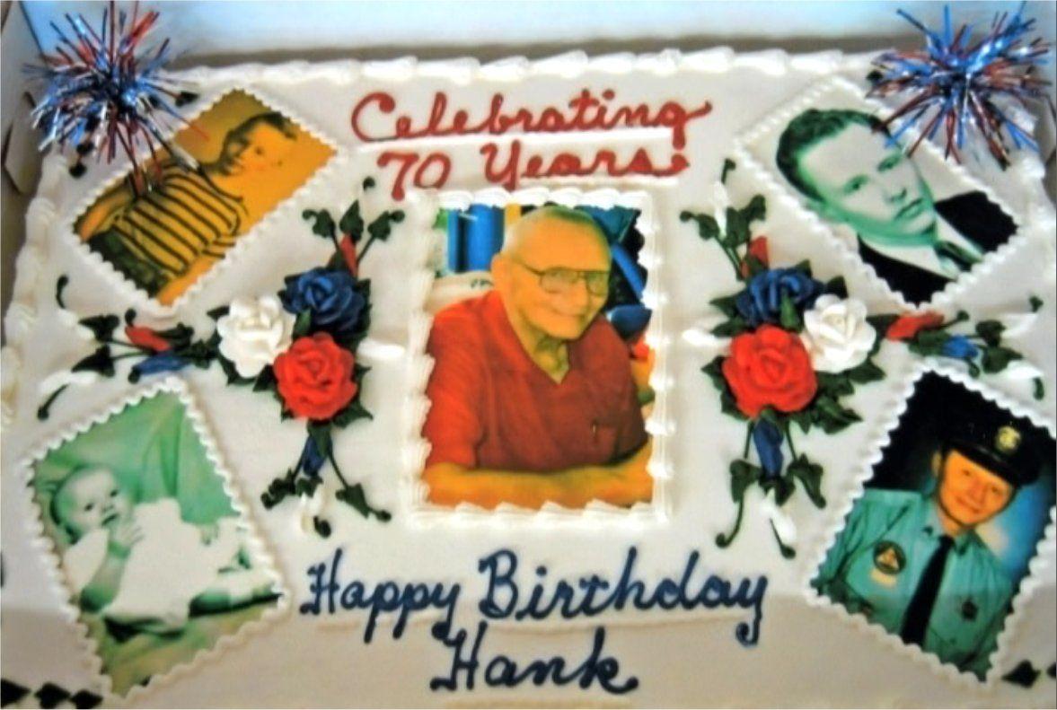 HENRY D JAQUAYS, SR - 70TH BIRTHDAY CAKE