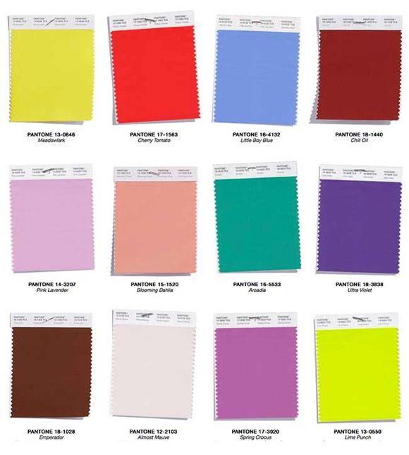 12 couleurs tendance printemps t 2018 selon pantone ss18 pantone tendances mode. Black Bedroom Furniture Sets. Home Design Ideas