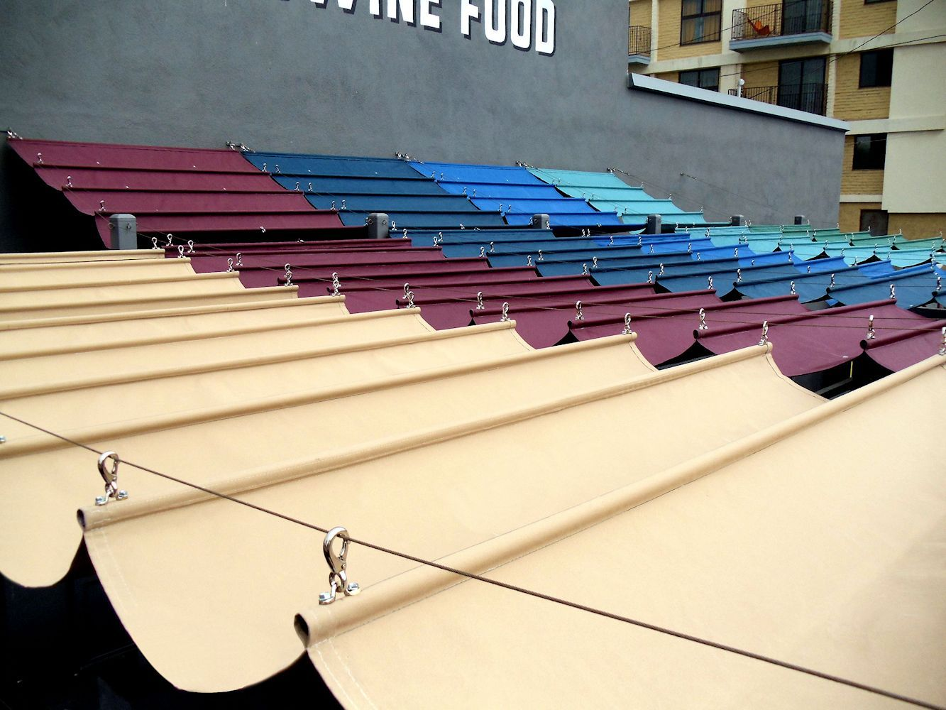 Slide Wire Cable Awnings By Superior Awning.Let The Sun Shine!