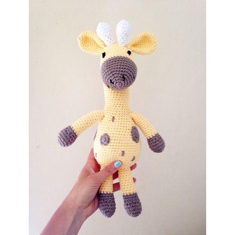 Número 34. Jirafa | Patrones amigurumi, Crochet amigurumi patrones ... | 480x480
