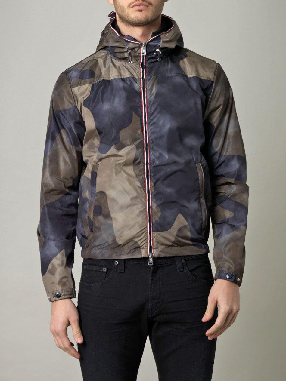 Moncler Camo-Print Jacket