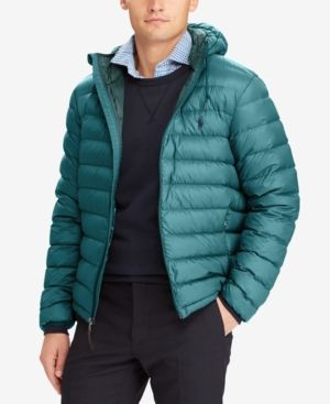 5e810901e6a8 Polo Ralph Lauren Men s Packable Down Jacket - Regent Green XXL ...