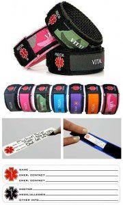 Child Medical Alert Bracelet Can Attach To Cat Strap Backpack Etc