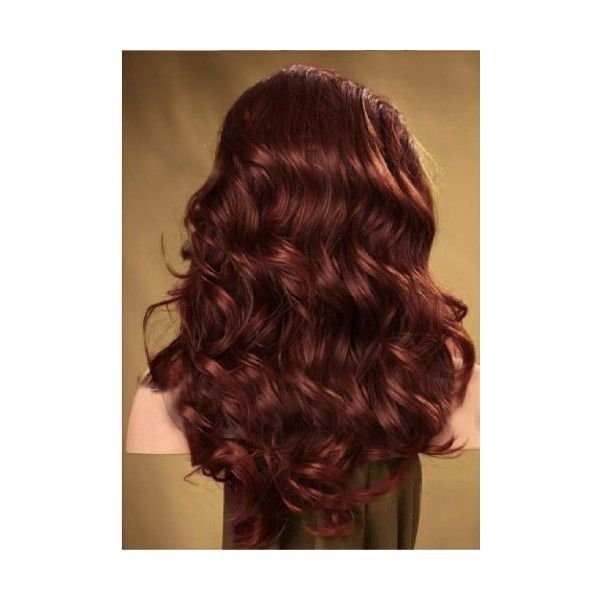 New!high Quality Lace Front Full Wig Hand Tied Synthetic Hair Wavy... (88 CAD) ❤ liked on Polyvore featuring beauty products