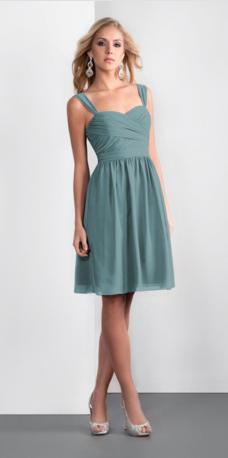 """Jasmine """"P166062K"""" georgette dress in Blue Eyes"""