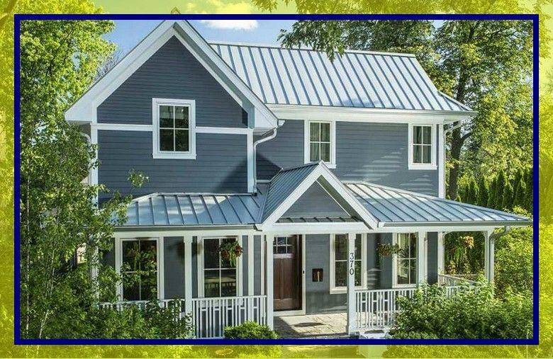 113 Reference Of Standing Seam Metal Roof Design Guide Di 2020 Warna Eksterior Rumah Patio Construction