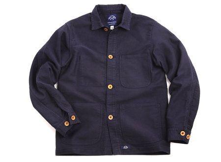 bleu de paname counter jacket navy wear bleu de paname veste et bleu de travail homme. Black Bedroom Furniture Sets. Home Design Ideas