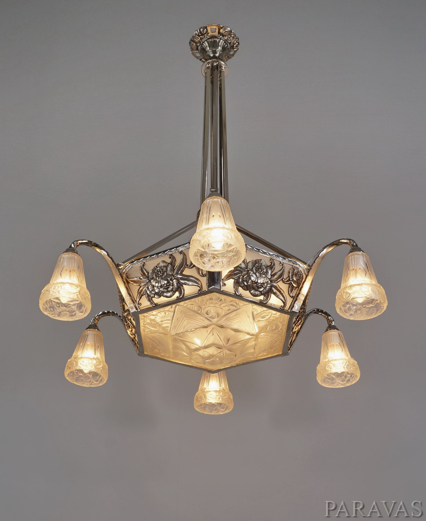 Ollier hanots large 1930 french art deco chandelier paravas ebay ollier hanots large 1930 french art deco chandelier paravas ebay arubaitofo Choice Image