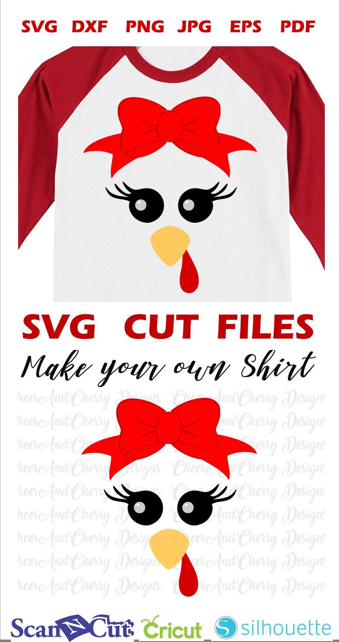 Thanksgiving Turkey face SVG for Thanksgiving shirt SVG