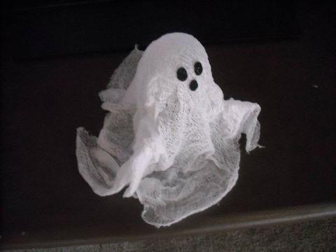 Halloween Ghost Craft Ghost crafts, Halloween ghosts and Halloween diy