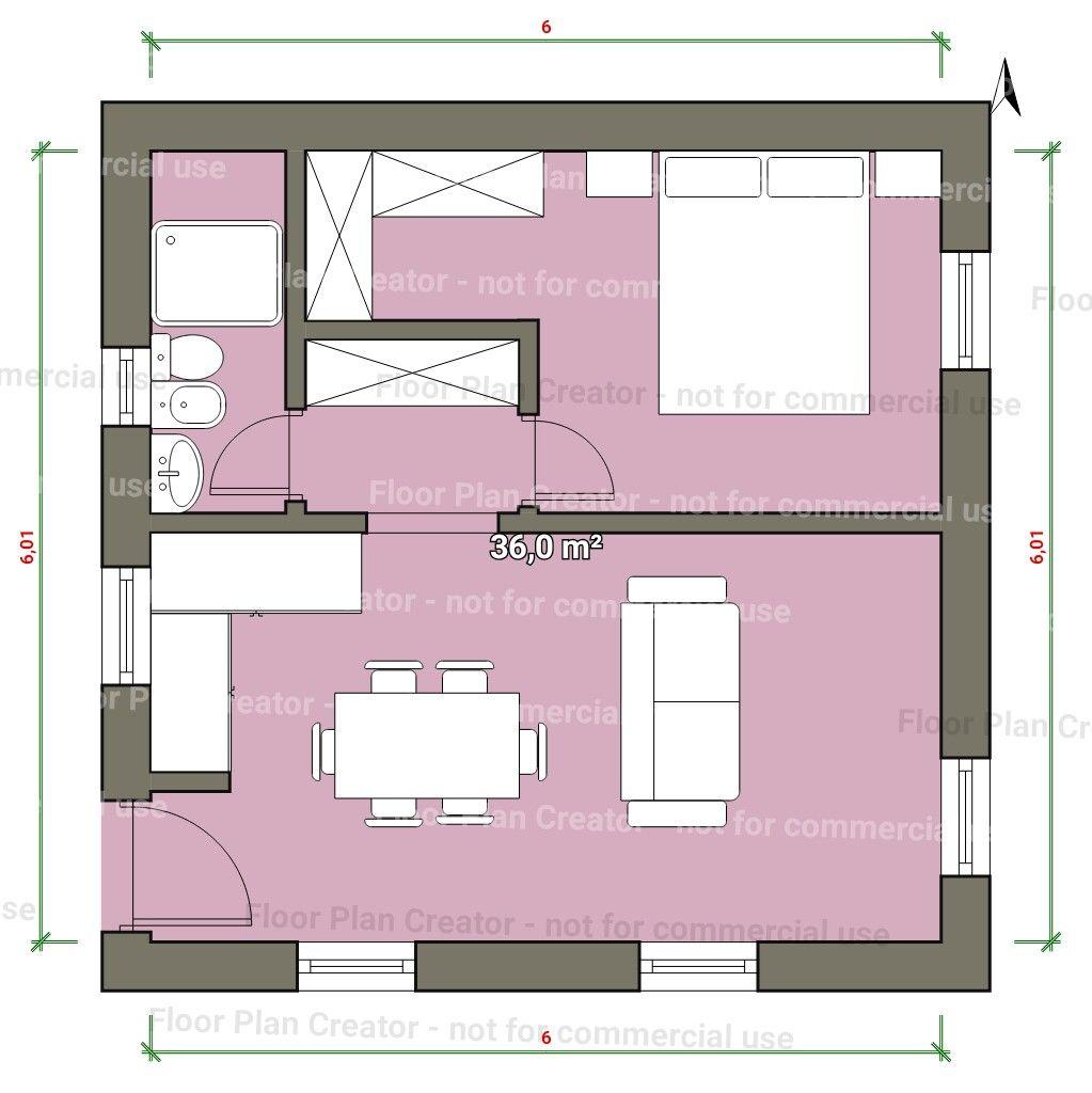 Ideal Distribucion De U A Habitacion Casas Para Alquilar Diseno Casas Pequenas Planos De Casas Pequenas
