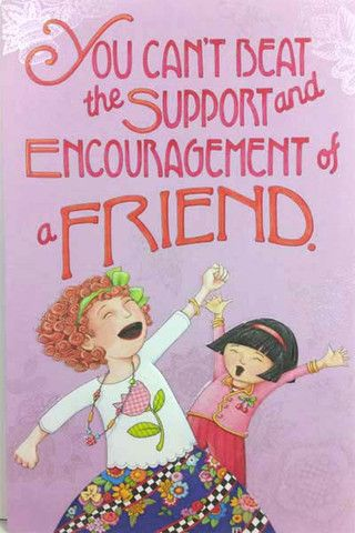 Support and encouragement friendship card mary engelbreit support and encouragement friendship card m4hsunfo