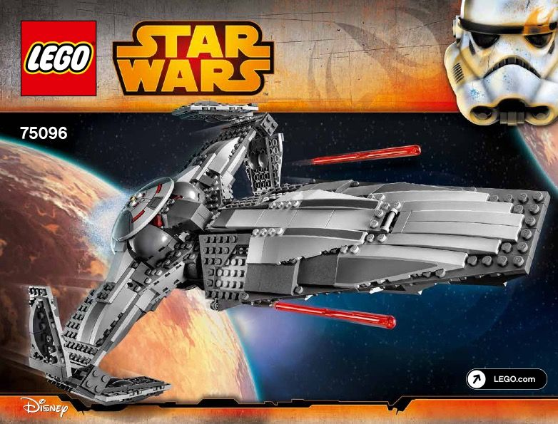 Star Wars Episode 1 - Sith Infiltrator [Lego 75096] | Lego Sets of ...