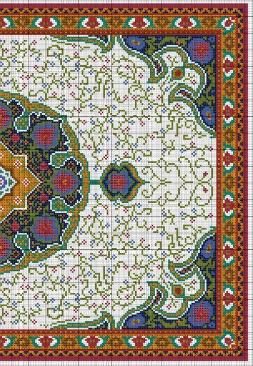 Pin von Ari Piuzana auf Tapetes   Pinterest   Kreuzstich