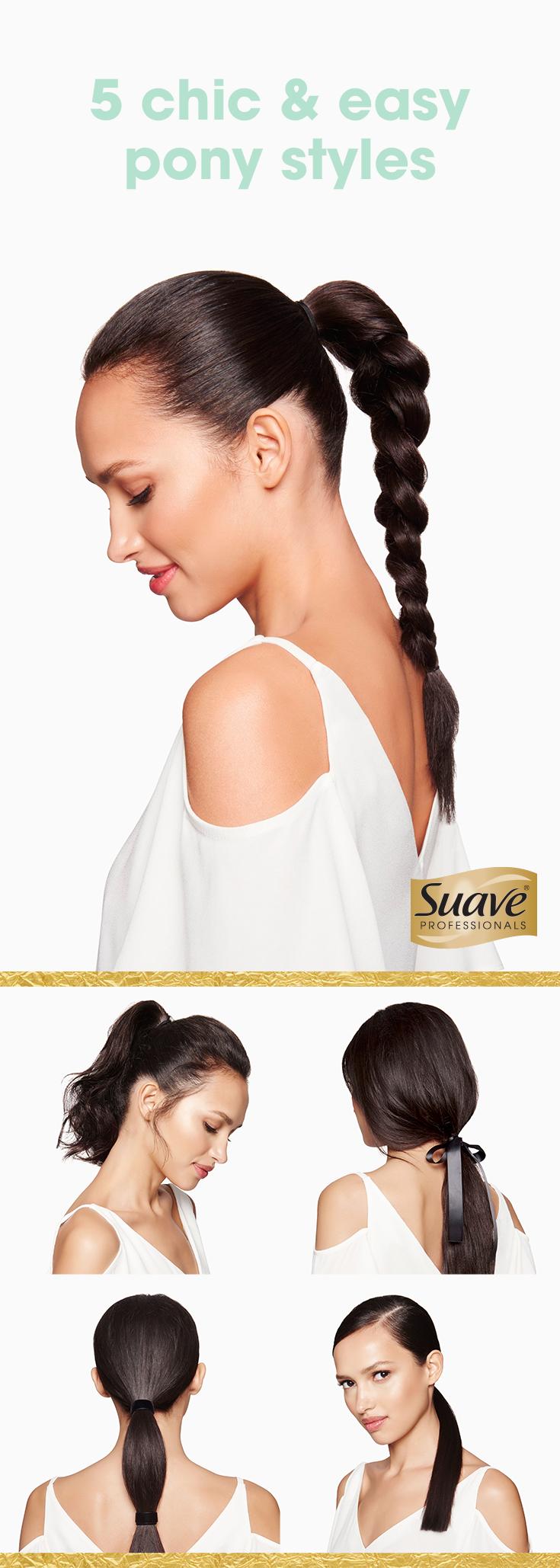 lightningfast ways to update your ponytail sea salt spray blow